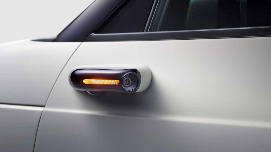 Honda E確認標配數位車側後照鏡系統