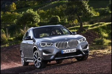 縮小版X7 BMW X1 Facelift