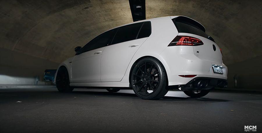 影/外型全原廠VW Golf R竟秒殺Nissan GT-R!