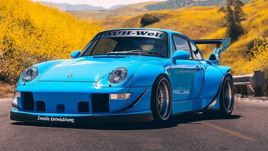 RWB Porsche 993換上Forgestar Wheels的輪圈後更顯特別