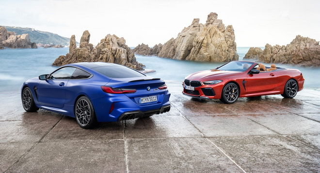 BMW 8 Series史上首部M8 Coupe問世 2020 BMW M8 Cabrio、M8 Coupe Competition、M8 Convertible Competition同步現身