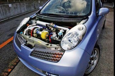 對抗新世代缸內直噴  K12 March雙增壓200ps達成 !!