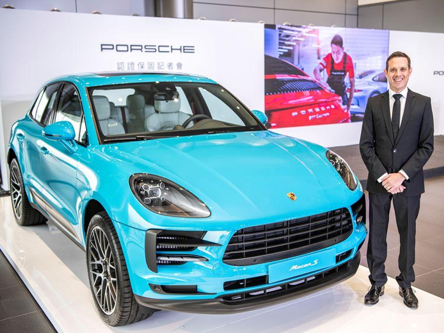 台灣保時捷推出Porsche Approved Warranty認證保固服務