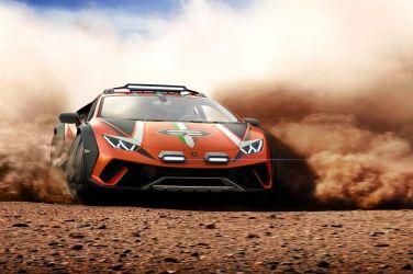 離開柏油路 Lamborghini Huracan Sterrato Concept