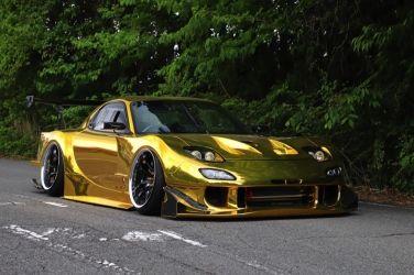 製作費超過1000萬元日幣  打造RE雨宮GT廠車式樣 !