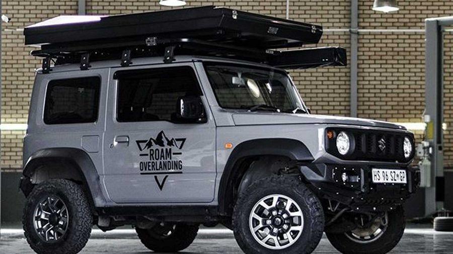 如何讓Suzuki Jimny變得更酷?加裝車頂帳篷!