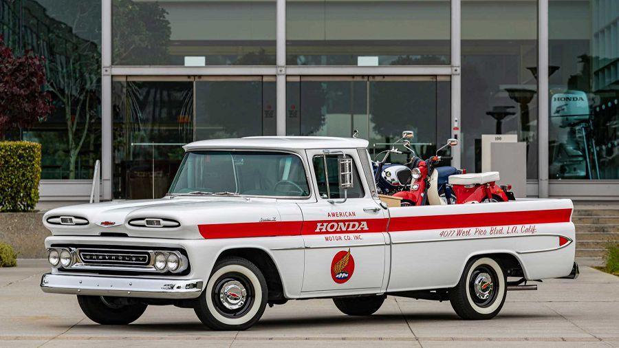 Honda復刻了一部Chevrolte貨卡來慶祝他們的歷史紀念日?