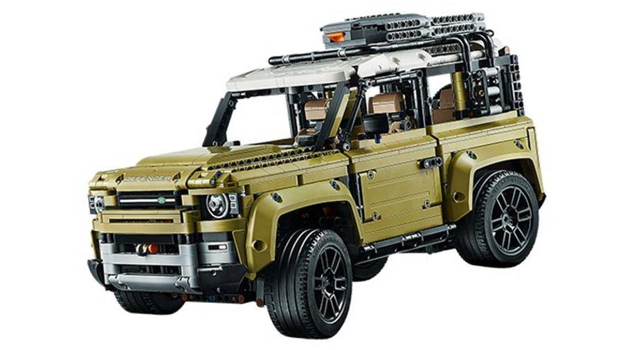 Lego率先披露了2020 Land Rover Defender的樣貌?