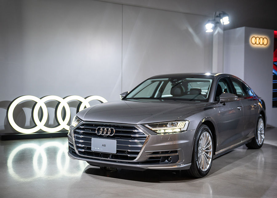 引頸期盼終於登台!旗艦科技Audi A8上市