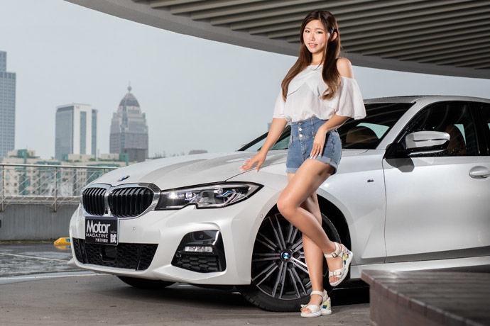Motor Babe - BMW 330i M Sport    少年新寵兒