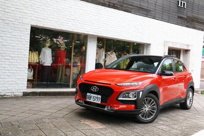 個性化都會休旅 Hyundai Kona 1.6T 2WD勁化型試駕