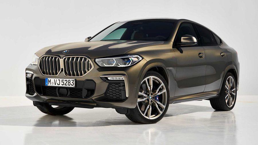523HP的V8雙渦輪引擎,2020 BMW X6正式發表