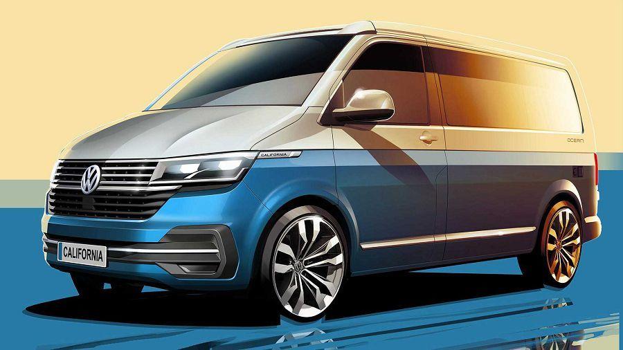 期待嗎?Volkswagen Transporter California 6.1會帶來更大量的科技配備