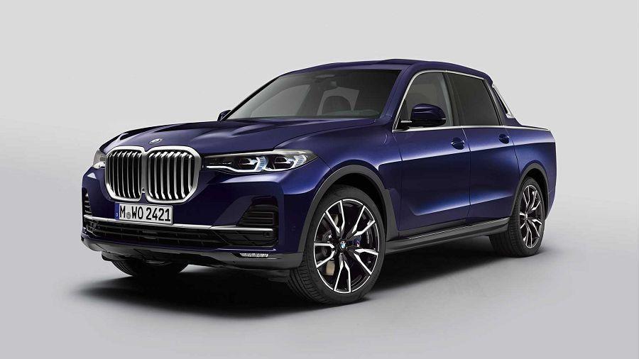 超豪華貨卡!由BMW打造出的X7 Pickup?