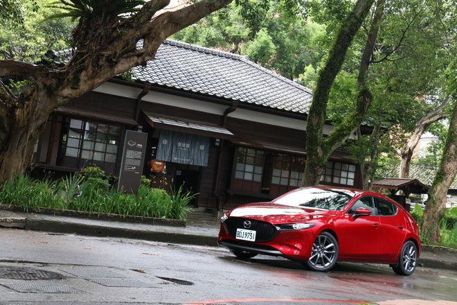 令和第一美女,Mazda3 五門BOSE旗艦型試駕