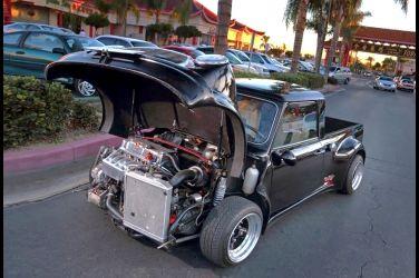 本田心臟強行注入  1967 Morris Mini Pickup !!