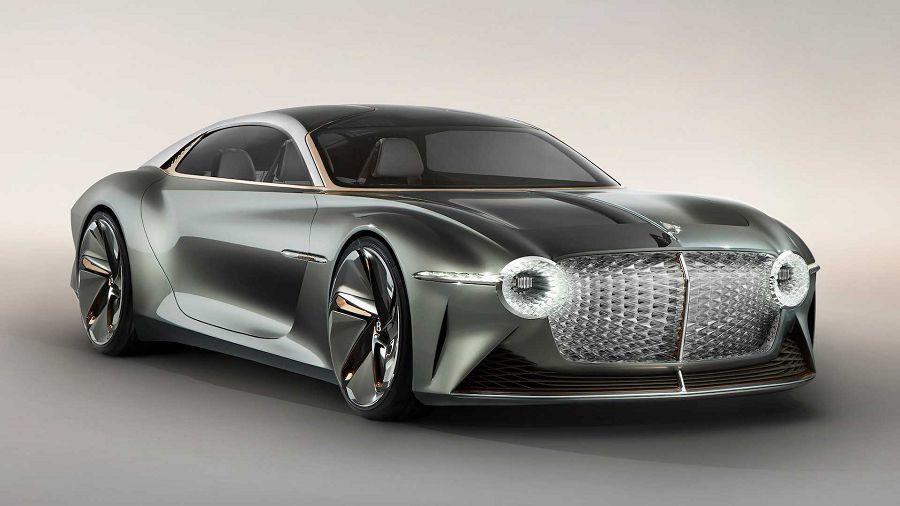 Bentley發表無比華麗的的EXP 100 GT電動概念車