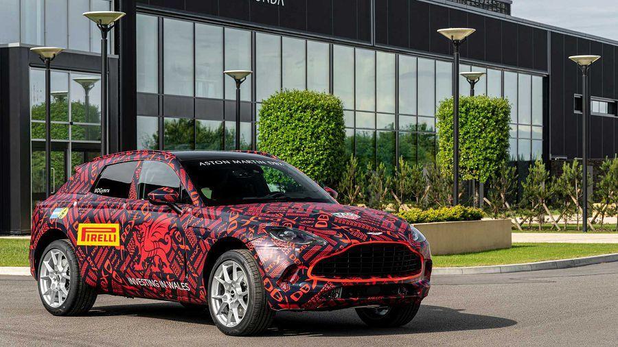 Aston Martin DBX真有可能成為第一輛配置甩尾模式的休旅車?