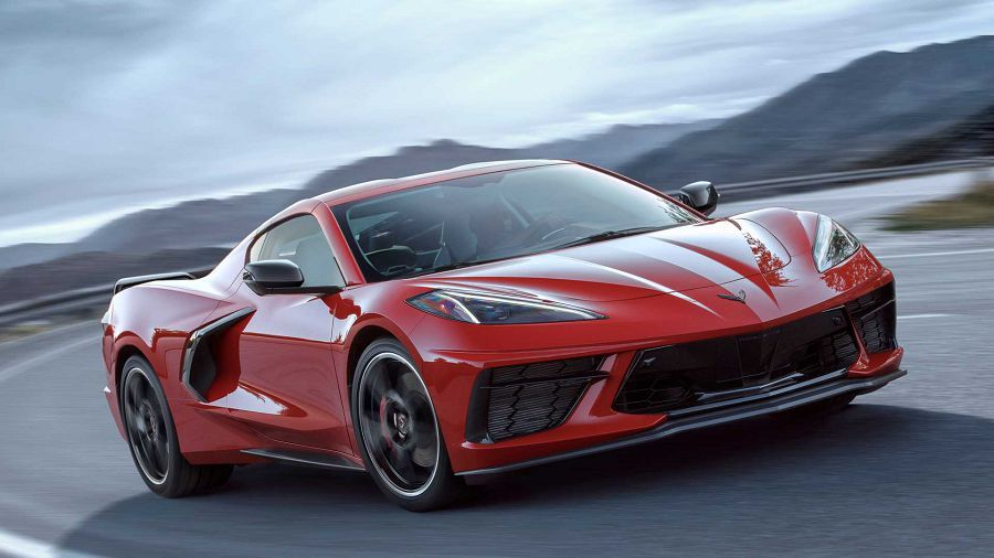 大破大立!中置引擎的2020 Chevrolet C8 Corvette登場