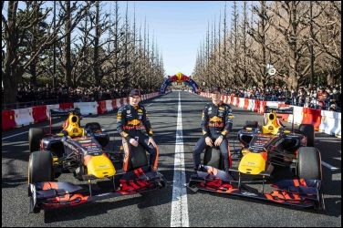 RED BULL RACING F1 SHOWRUN即將襲台!原廠賽車2020空降台北