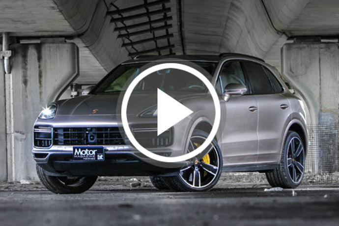 Porsche Cayenne Turbo    詮釋速度的不同方式