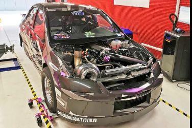 哥 !! 改的是一個傳說   LSx Turbo Lancer EVO !!