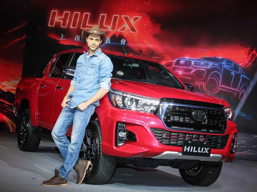 超歐趕美?日系皮卡新秀Toyota Hilux 136萬元開賣!