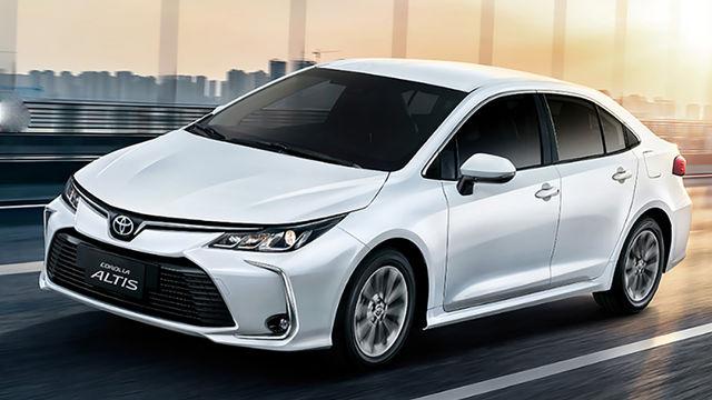 2019年08月 Toyota 豐田全車系中古車行情表