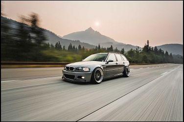 2000 BMW 323i Touring  將不幸轉變為理想的M3旅行車