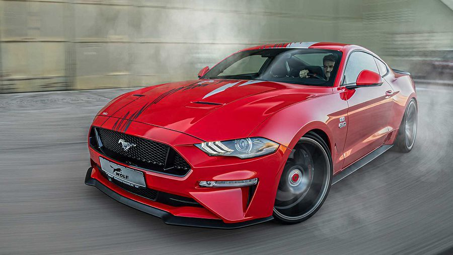 Wolf Racing推出大幅改造過的Ford Mustang GT─「One of 7」