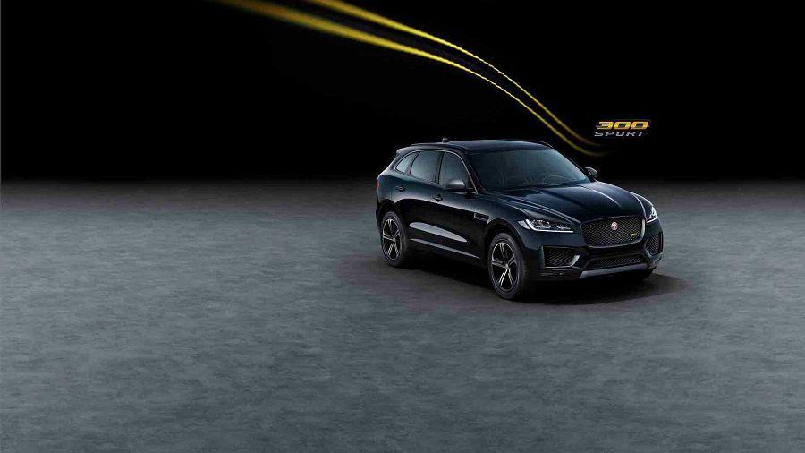 2020 Jaguar F-Pace推出「300 Sport」和「Checkered Flag」特別版