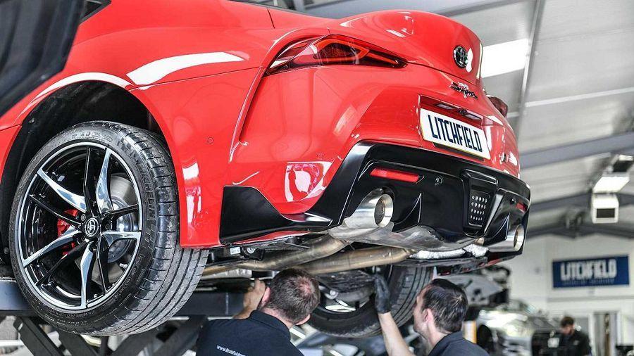 2020 Toyota Supra僅僅是簡單調整ECU就能做出420 HP的最大馬力?