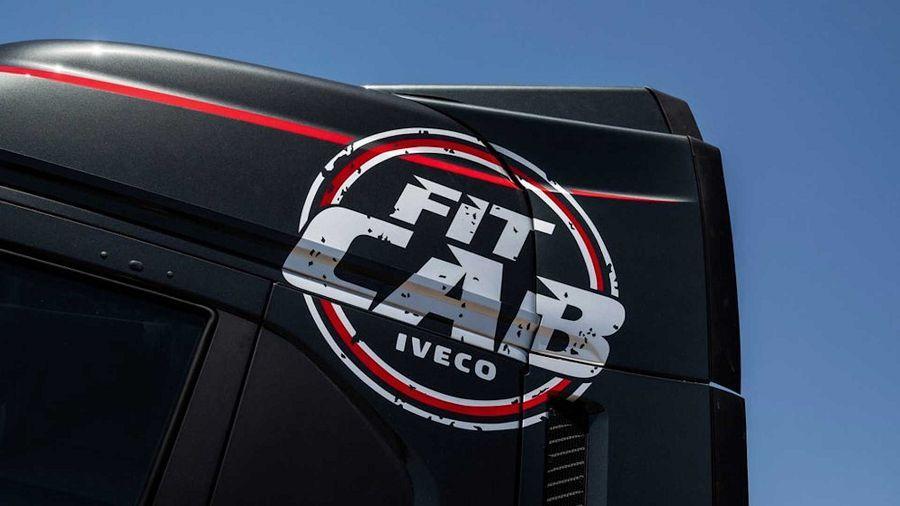 沒時間運動?Iveco直接把卡車車頭變成行動健身房