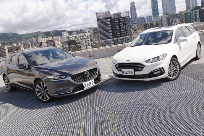 美、日旅行車大對抗!Ford Mondeo Wagon v.s Mazda6 Wagon 【動力、操駕篇】