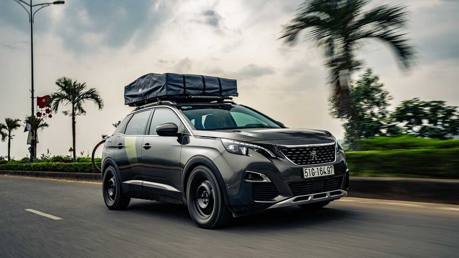 Peugeot以3008推出一輛戶外探索概念車