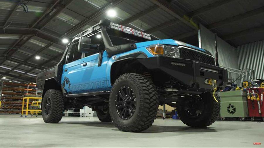 具備偏心式車軸的Toyota Land Cruiser已準備好面臨各種路況挑戰了