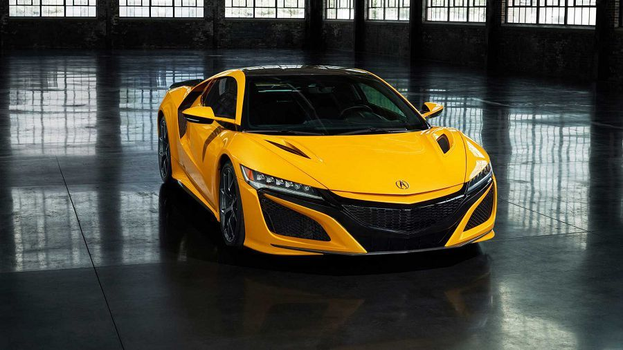 2020 Acura NSX推出Indy Yellow Pearl黃色來致敬經典的Spa Yellow車色