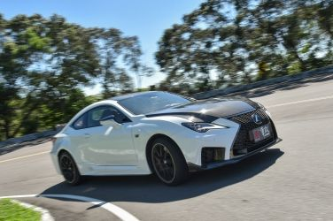 狂暴廠車   Lexus RC F Track Edition(下) !