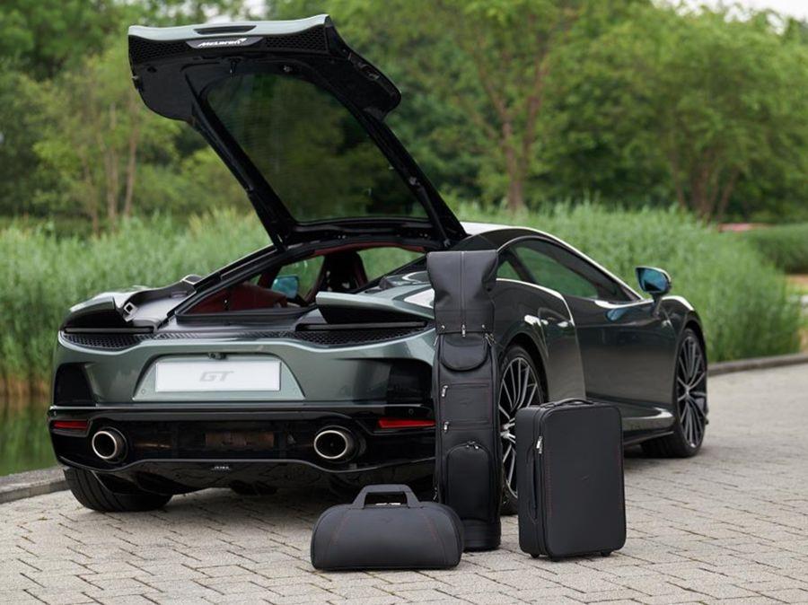 旅行更有型!McLaren GT推出客製化旅行箱套件