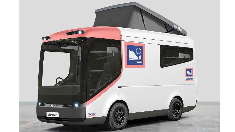 期待嗎?以英國小型貨車為藍本的電動露營概念車來了