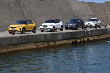 韓流再襲  Kia Stonic vs. Honda HR-V vs. Nissan Kicks vs. Toyota C-HR(下) !