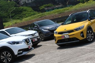 韓流再襲  Kia Stonic vs. Honda HR-V vs. Nissan Kicks vs. Toyota C-HR(中) !