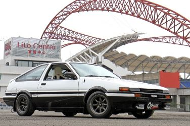 [OPTION改裝電子別冊] 全台頭D復刻最強版  Toyota AE86完美翻修 !!