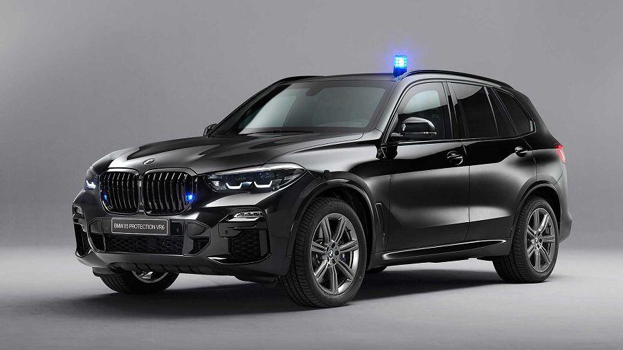 BMW X5 Protection VR6可讓你在AK-47的槍林彈雨中存活