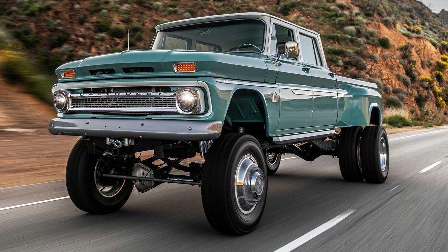 Rtech Fabrications推出極為罕見的Chevrolet改裝經典貨卡越野車