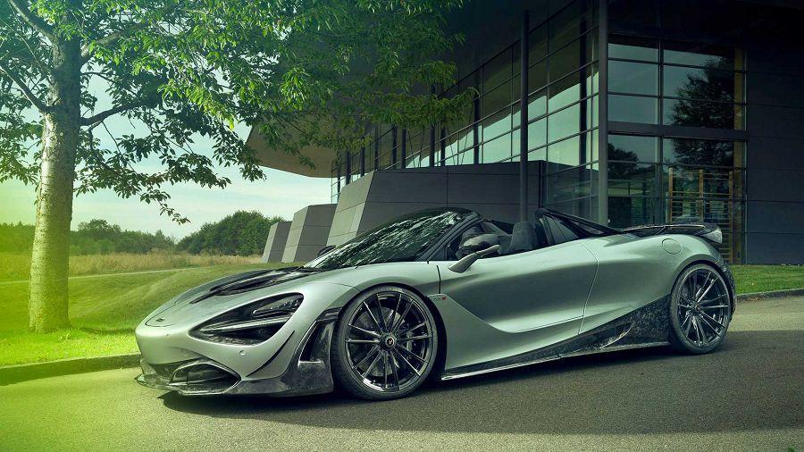 Novitec大量引入碳纖維材質來妝點McLaren 720S Spider