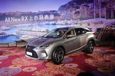 全車系調漲3萬元起 ADAS給好給滿  小改款Lexus RX今日上市