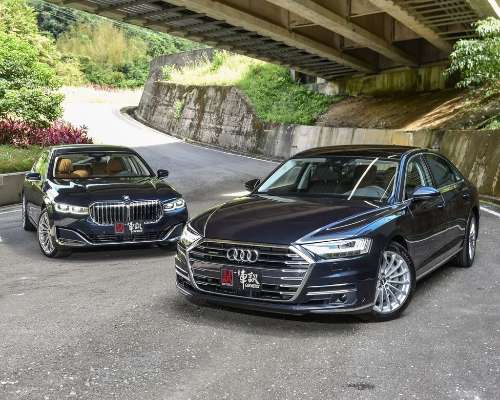 董事長的煩惱 Audi A8 vs. BMW 7 Series !!
