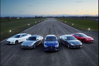 晉升傳奇  限時禮遇   Maserati5年保固及5年保養專案 !