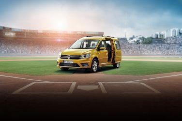 VW Caddy Maxi《Home Run傳奇版》限量上市 全面升級「iSafe 全智能駕駛輔助系統」